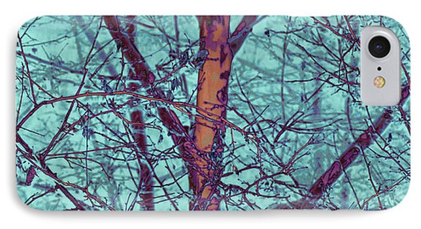 Abstract Nature IPhone Case by Angel Jesus De la Fuente