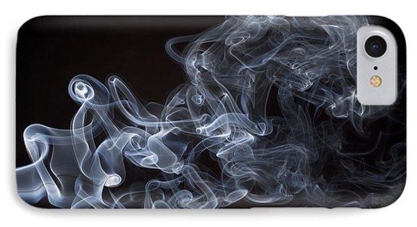 Abstract Smoke Running Horse Phone Case by Setsiri Silapasuwanchai