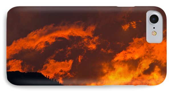 Abstract Sunset Phone Case by Mitch Shindelbower