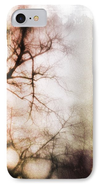 Abstract Trees Phone Case by David Ridley