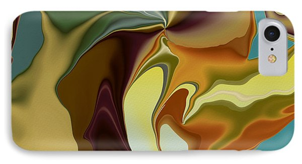 Abstract With Mood Phone Case by Deborah Benoit