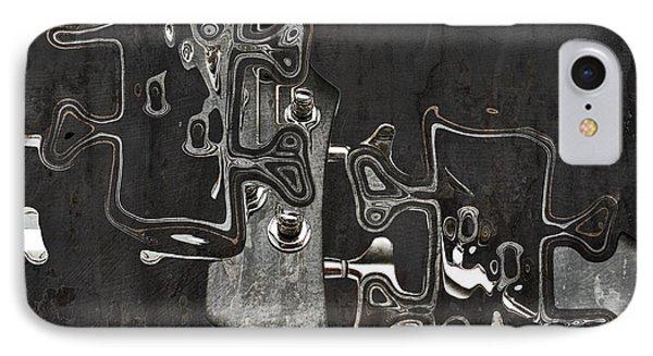 Abstrait En Do Majeur A2 Phone Case by Aimelle