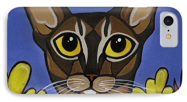 Abyssinian  IPhone Case by Leanne Wilkes