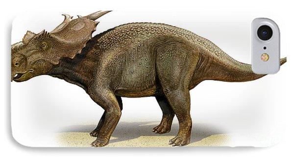 Achelousaurus Horneri, A Prehistoric Phone Case by Sergey Krasovskiy