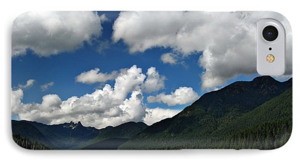 Across Capilano Lake IPhone Case