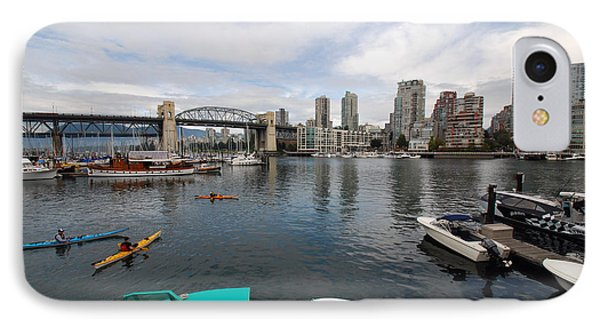 IPhone Case featuring the photograph Across False Creek by John Schneider