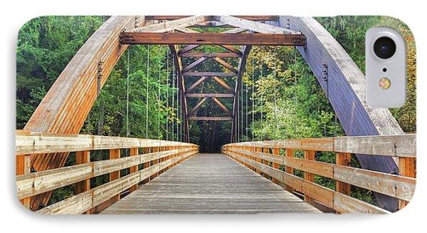 Across The Bridge IPhone Case by Tyra  OBryant
