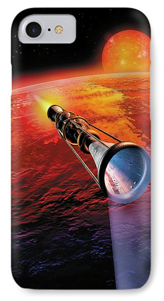 Across The Sea Of Suns IPhone Case by Don Dixon