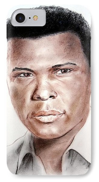 Actor Sidney Poitier Phone Case by Jim Fitzpatrick