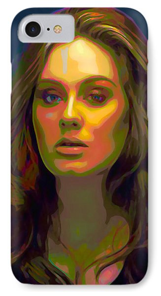 Adele IPhone 7 Case by  Fli Art