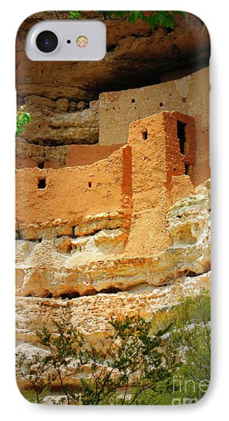 Adobe Cliff Dwelling IPhone Case by Carol Groenen