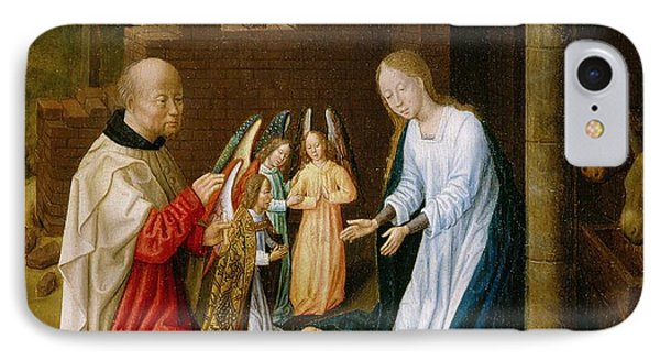 Adoration Of The Christ Child  Phone Case by Master of San Ildefonso