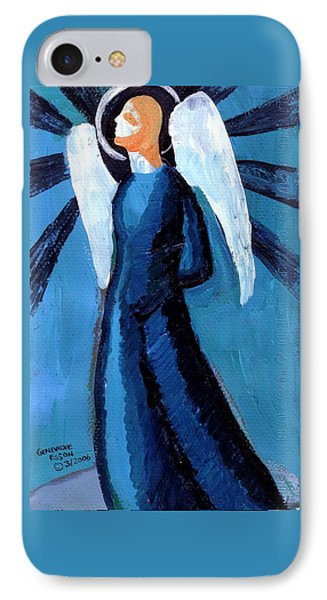 Adrongenous Angel Phone Case by Genevieve Esson