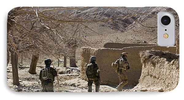 Afghan Commandos Are Guided Phone Case by Stocktrek Images