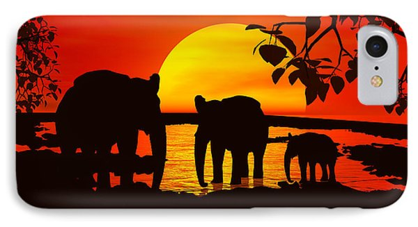Africa IPhone Case by Robert Orinski