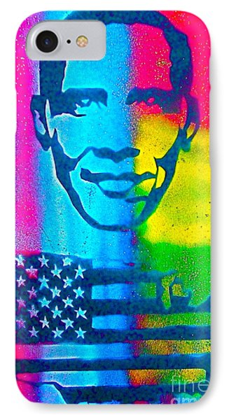 African-american Obama Phone Case by Tony B Conscious