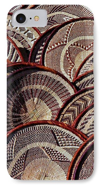 IPhone Case featuring the photograph African Art Baskets by Werner Lehmann