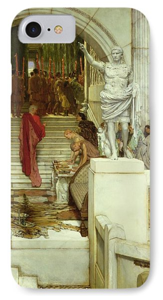 After The Audience Phone Case by Sir Lawrence Alma-Tadema