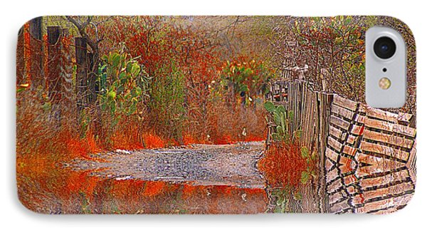 IPhone Case featuring the photograph After The Rains Came by John  Kolenberg