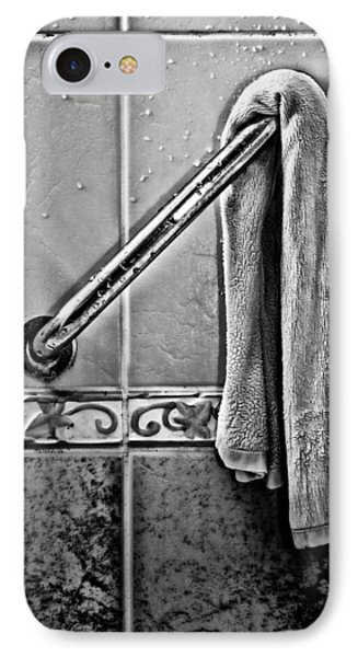 After The Shower - Bw Phone Case by Christopher Holmes