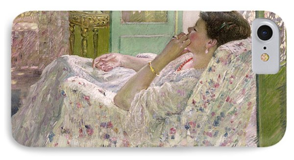 Afternoon - Yellow Room IPhone Case by Frederick Carl Frieseke