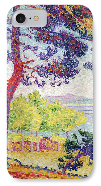 Afternoon At Pardigon IPhone Case by Henri-Edmond Cross