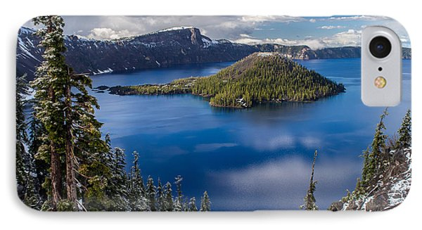 Afternoon Clearing At Crater Lake Phone Case by Greg Nyquist