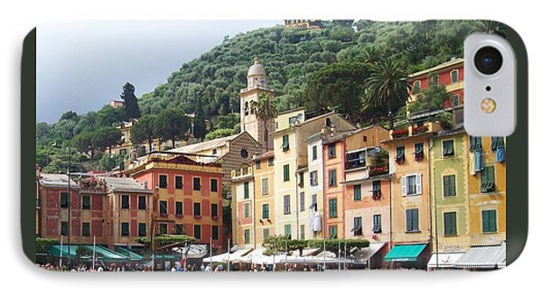 Afternoon In Portofino IPhone Case by Marilyn Dunlap