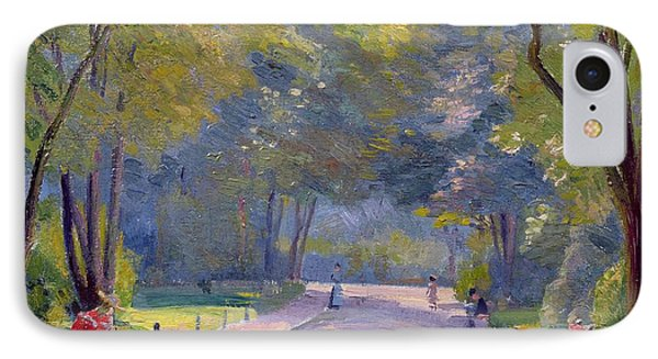 Afternoon In The Park Phone Case by Hippolyte Petitjean