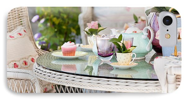 Afternoon Tea And Cakes Phone Case by Simon Bratt Photography LRPS