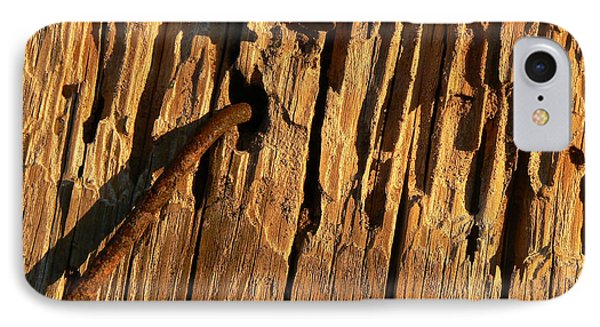 IPhone Case featuring the photograph Against The Grain by Lin Haring
