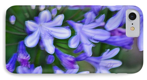 Agapanthus Phone Case by Gwyn Newcombe