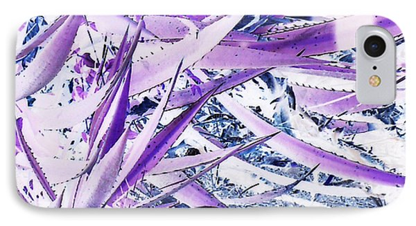 IPhone Case featuring the photograph Agave Lechuguilla Number One by Louis Nugent