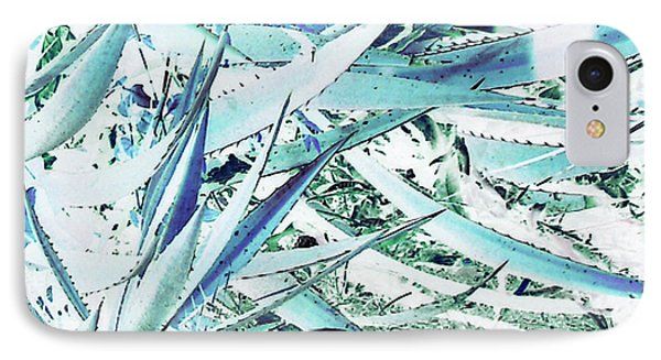 IPhone Case featuring the photograph Agave Lechuguilla Number Two by Louis Nugent