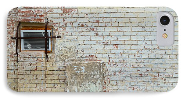 Aged Brick Wall With Character Phone Case by Nikki Marie Smith