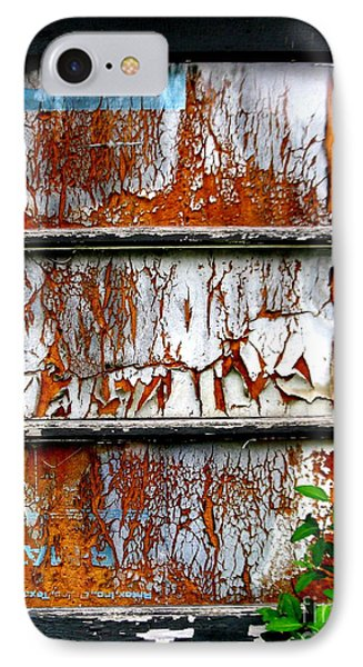 Aged Door IPhone Case by Amy Sorrell