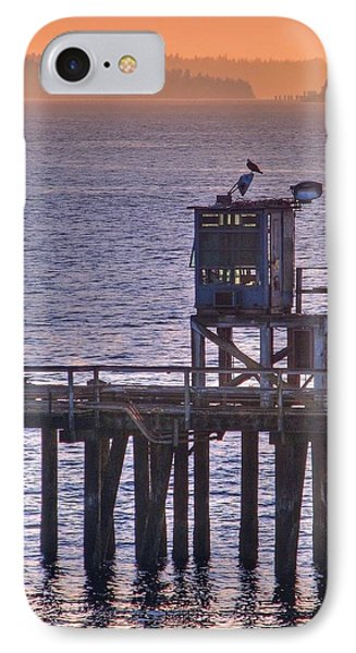 IPhone Case featuring the photograph Aging Pier by Chris Anderson