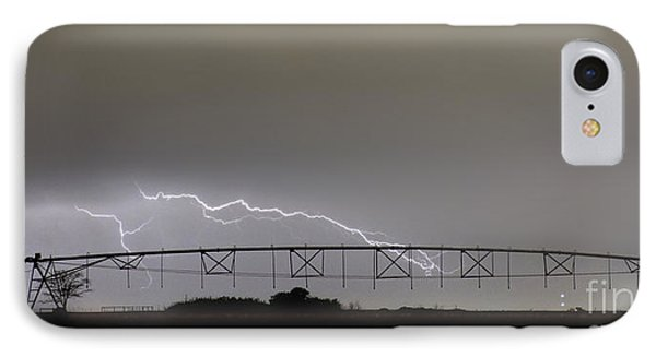 Agricultural Irrigation Lightning Bolts Phone Case by James BO  Insogna