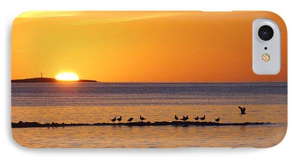 IPhone Case featuring the photograph Agua Verde Sunrise by Anne Mott