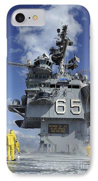 Air Department Sailors Test Phone Case by Stocktrek Images