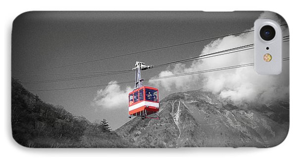 Air Trolley IPhone Case by Naxart Studio