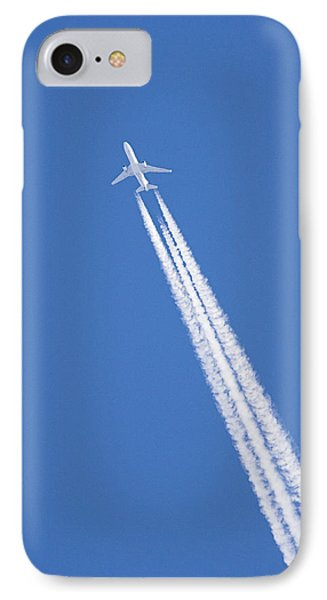 Aircraft Contrail Phone Case by Duncan Shaw