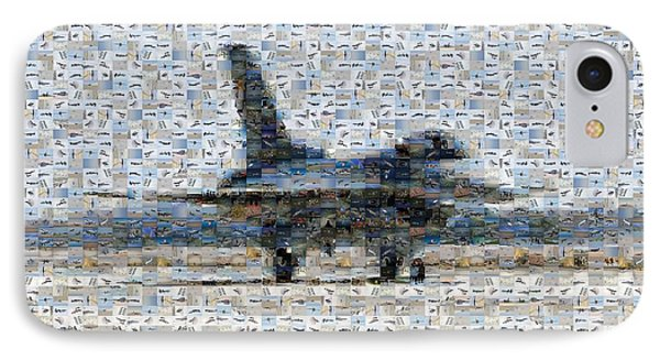 Airforce F-4866 Mosaic  Phone Case by Darleen Stry