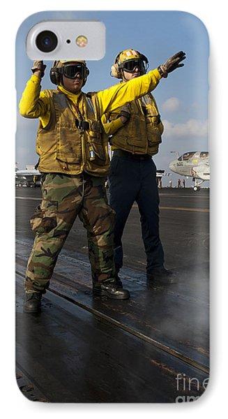 Airmen Direct An Fa-18c Hornet Phone Case by Stocktrek Images
