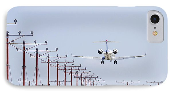 Airplane Landing Phone Case by Jeremy Woodhouse