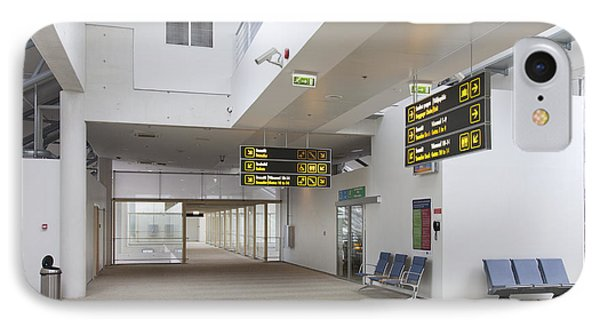Airport Concourse Phone Case by Jaak Nilson