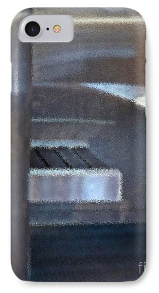 Airport Cubical IPhone Case by Gwyn Newcombe