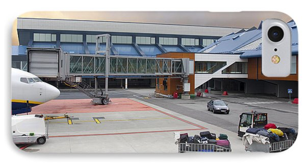Airport Gate Arrival Phone Case by Jaak Nilson
