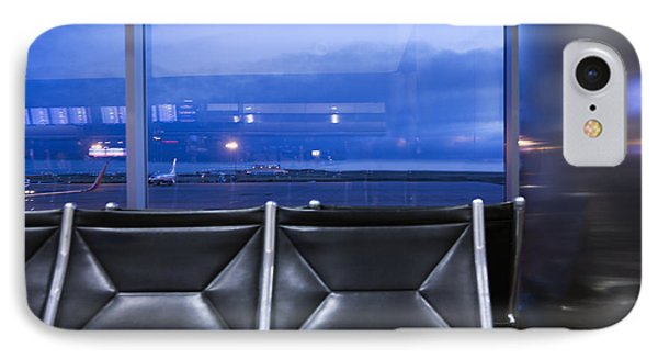 Airport Terminal Seating IPhone Case