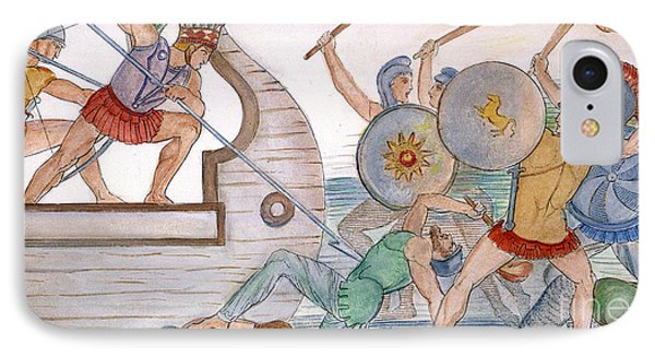 Ajax: Trojan War IPhone Case by Granger